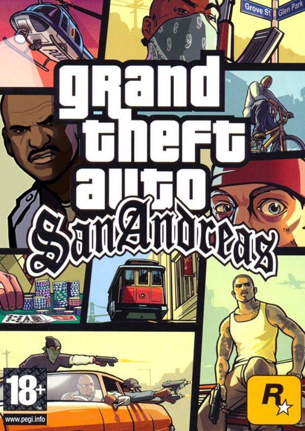 خرید بازی جی تی ای ۵ (GTA SA) برای کامپیوتر