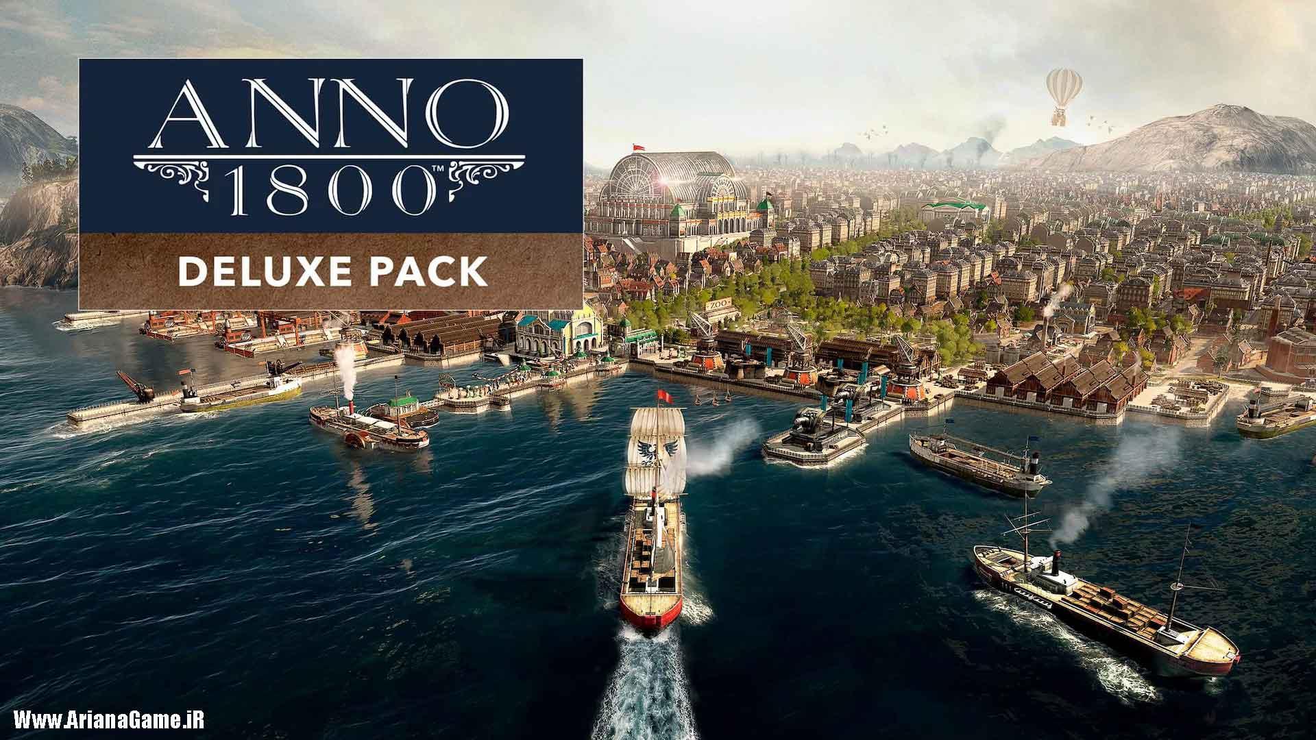 خرید بازی Anno 1800 Digital Deluxe Edition برای PC