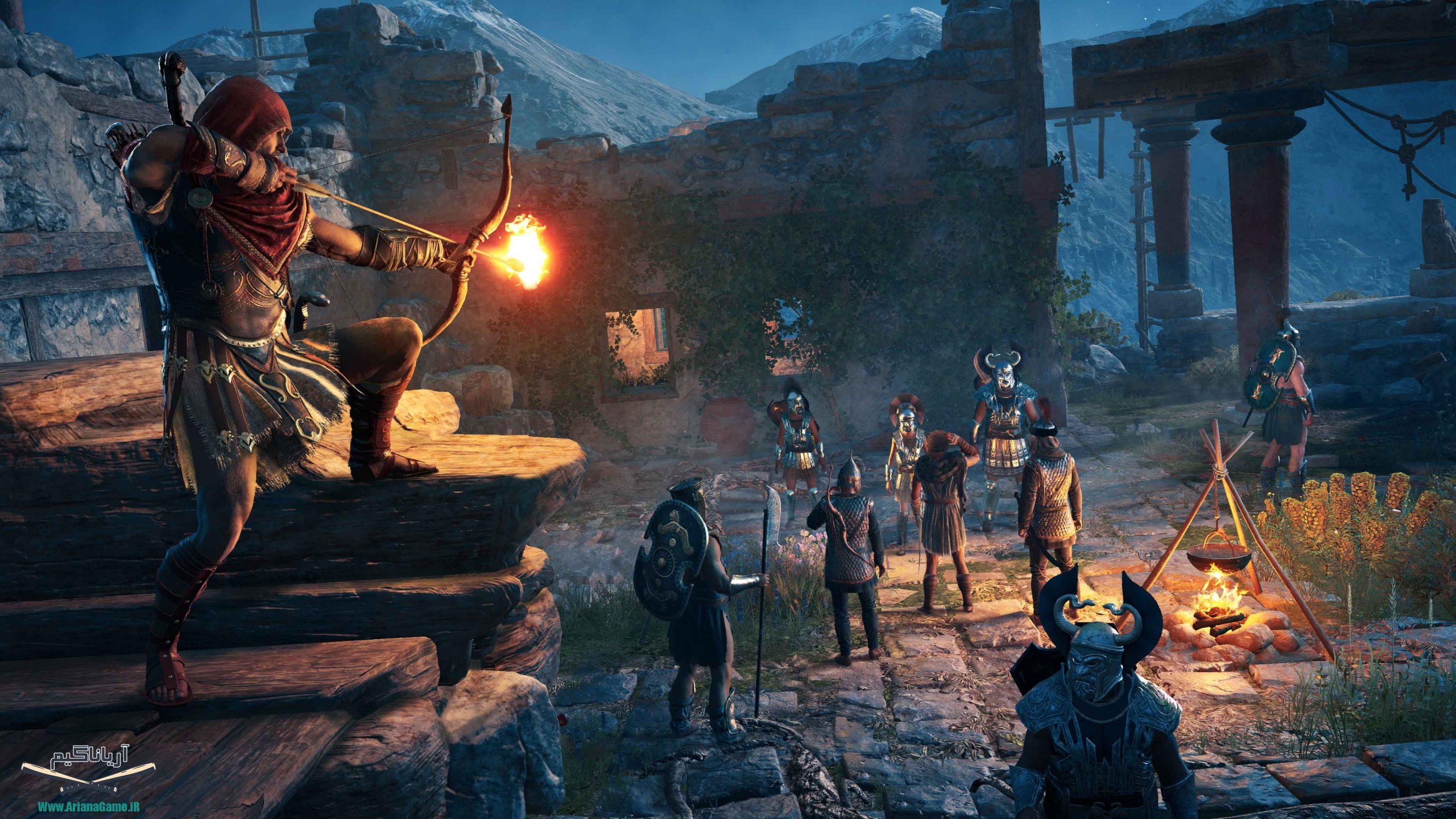 خرید بازی Assassins Creed Odyssey The Fate of Atlantis (کشیش آدم کش : ادیسه) برای PC