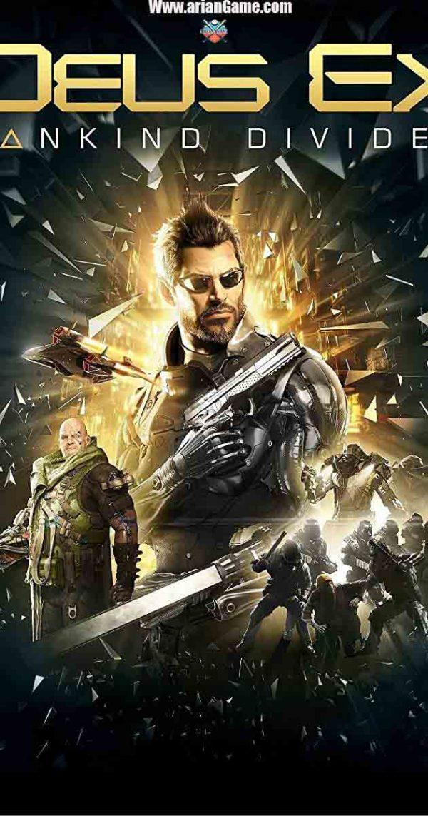خرید بازی Deus Ex Mankind Divided