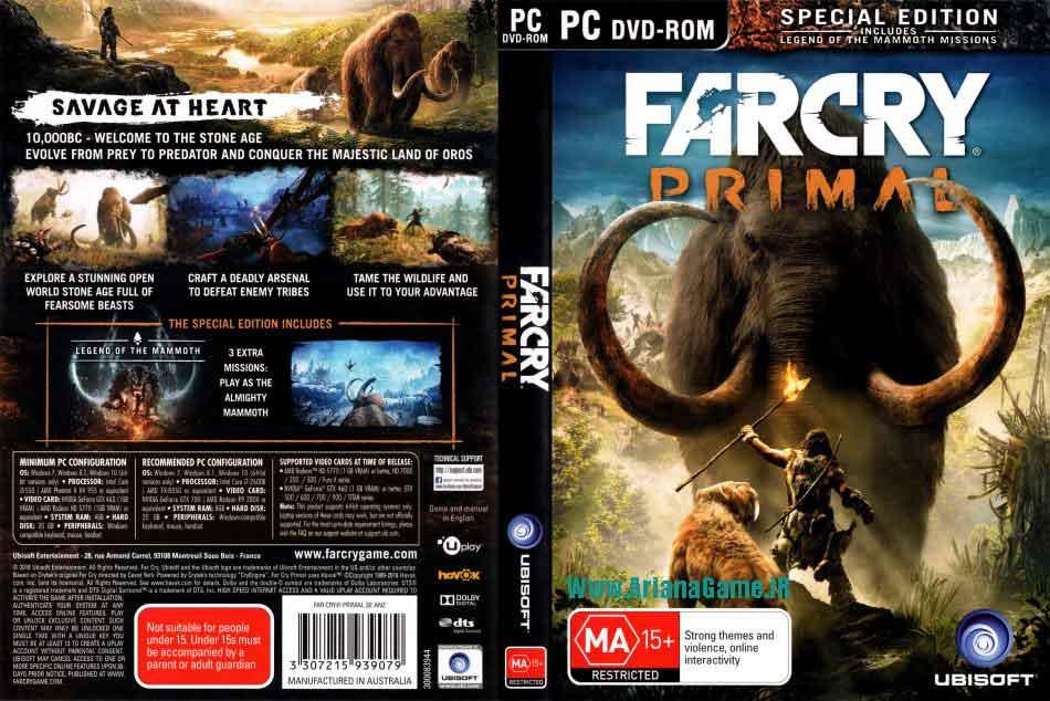 خرید بازی Far Cry Primal برای PC