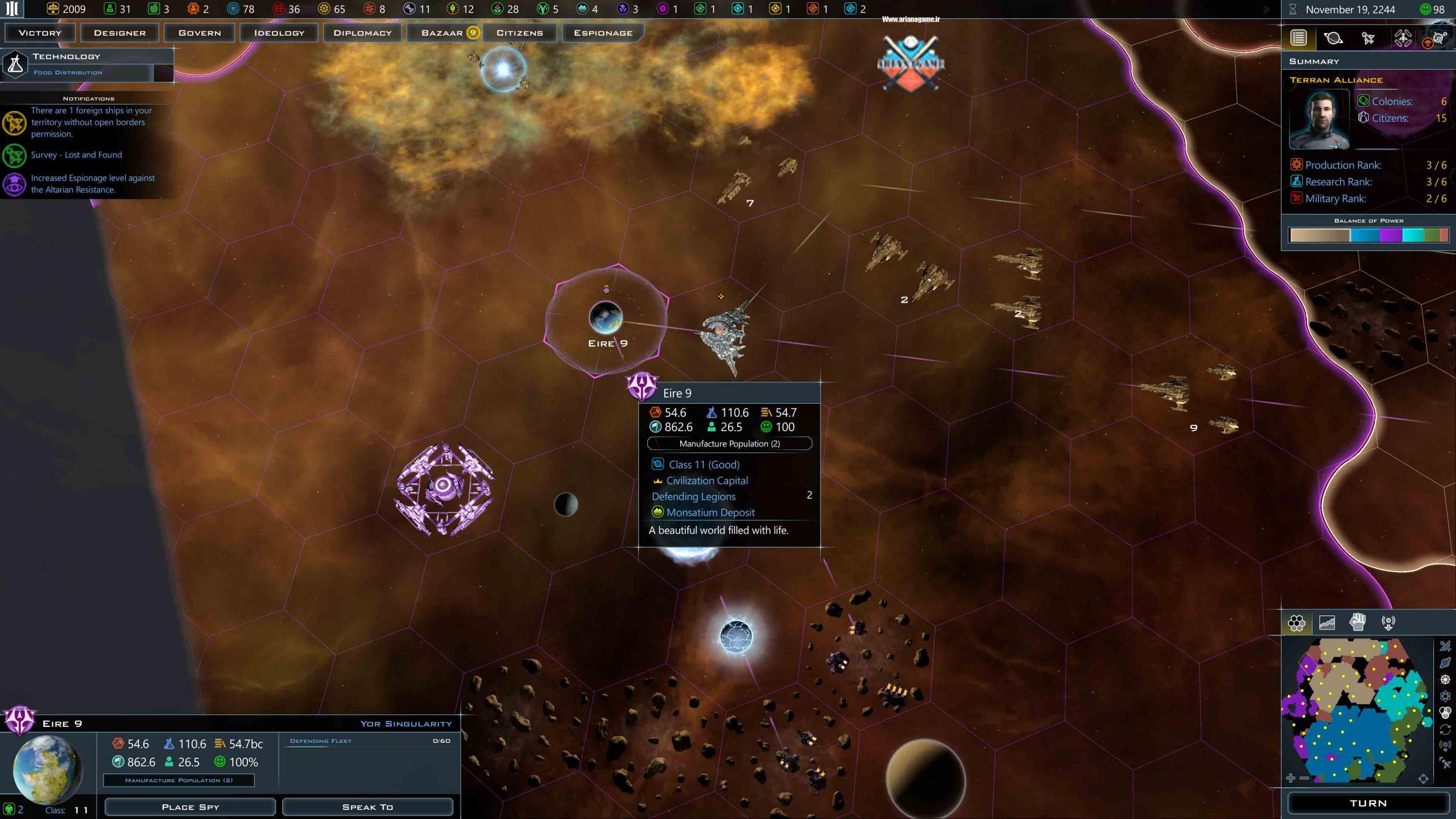 خرید بازی Galactic Civilizations 3