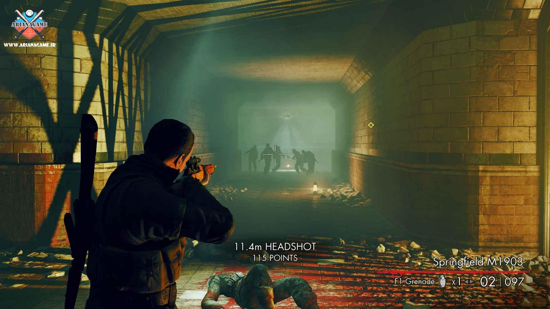 خرید بازی Sniper Elite Nazi Zombie Army 2 (ارتش زامبی نازی) برای PC
